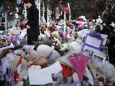 Newtown remembers shootout victims at funeral, memorial services