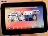 Google's Nexus 10 gives quick access to Gmail, YouTube