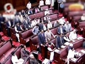 Parliament disrupted over promotion quota bill, Muslim reservation