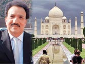 A Taj birthday for Pak Interior Minister Rehman Malik