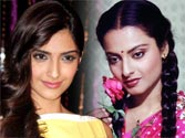 Sonam Kapoor seeks Rekha's advice for Khubsoorat remake