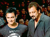 Bollywood buddies Aamir Khan and Sanjay Dutt to unite on screen for first time in Rajkumar Hirani