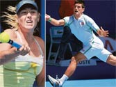 Big guns sail through: Djokovic, Sharapova and other top seeds register convincing wins on opening day of Australian Open 2013