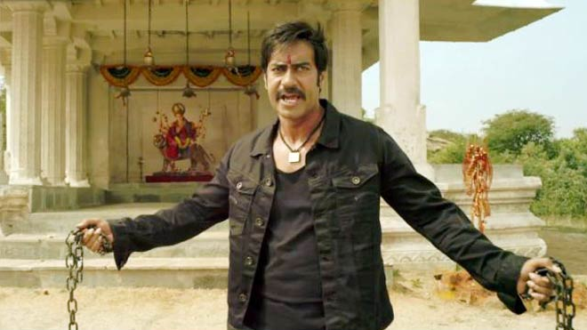 Ajay Devgn in a still from Himmatwala