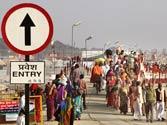 Maha Kumbh Mela: Allahabad turns into fortress as lakhs of pilgrims flock to holy city