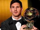 Lionel Messi wins record fourth Ballon d'Or at a FIFA gala in Zurich