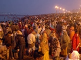 Mahakumbh: Two million devotees take holy dip on Paush Purnima
