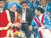 PM Manmohan Singh defends his pet projects as he slams critics of nuclear power and GM foods
