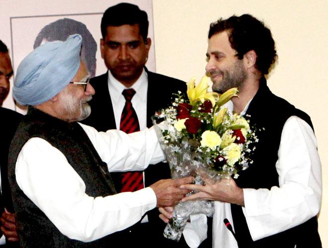Manmohan Singh, Rahul Gandhi