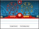 Google celebrates Valentine