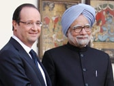 No middlemen in Rafale jet deal, French President Hollande assures India