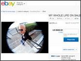 Greek man Alexandros Makris gives up his life, puts it up for sale on ebay!