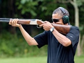 Barack Obama's image of skeet shooting a move to appease pro-gun lobby?