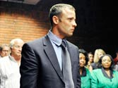 South African court charges paralympian Oscar Pistorius with girlfriend's murder