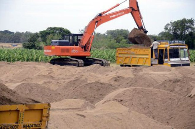 Sunil Kendrekar had stopped the activities of the sand mafia.