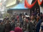 Video of Sikkim top cop ordering lathi-charge on women protesters goes viral on social media