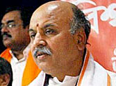 Feb 7, 2013: FIR lodged against VHP leader Praveen Togadia in Nanded for his hate speech