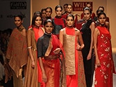 Day 3 of WIFW adds modern touch to Indian attire