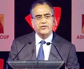 India Today Group Chairman & Editor-in-Chief Aroon Purie