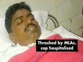 Maharashtra police suspends cop who was beaten up by MLAs in state Assembly