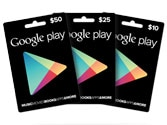 Google Play gift cards available at branches of Tesco, Morrisons in the UK