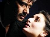 Kareena and Ajay to get intimate in Satyagraha