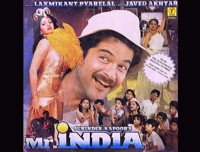 Image result for mr india poster
