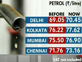 Blow post Budget: Petrol price hiked by Rs 1.40 per litre