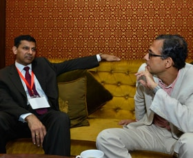 Raghuram Rajan and Abhijit Banerjee