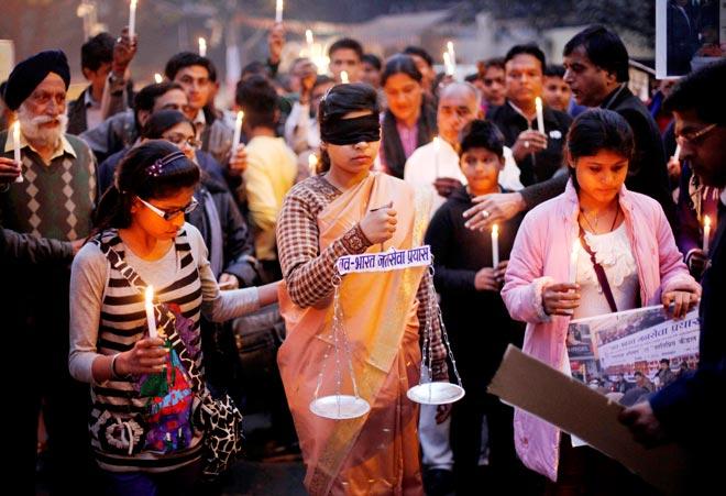 Delhi gangrape protest
