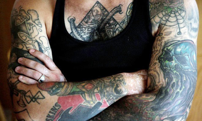 How long can you give blood after tattoo