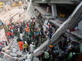 Rescuers struggle to reach survivors as Bangladesh factory collapse death toll climbs to 251