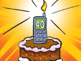 Cellular phone: Changing the world at young age of 40