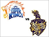 Chennai storm to 1st spot after win over red-hot KKR in IPL