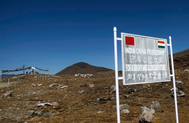 Indo-China border at Bumla, Arunachal Pradesh