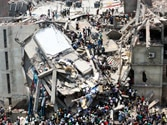 Retailers pledge to compensate victims of Bangladesh building collapse
