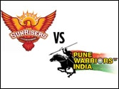 Sunrisers Hyderabad vs Pune Warriors: Players who can change the game