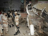Four killed in blasts near MQM, PPP offices in Karachi
