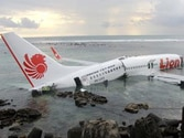 Lion Air jet crashes into sea in Bali, 45 hurt
