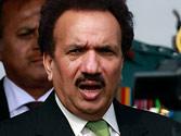 Pakistan investigators to quiz Rehman Malik in Bhutto killing case