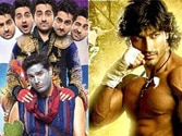 Ayushmann's Nautanki Saala! and Vidyut Jamwal's Commando's fight it out at box office