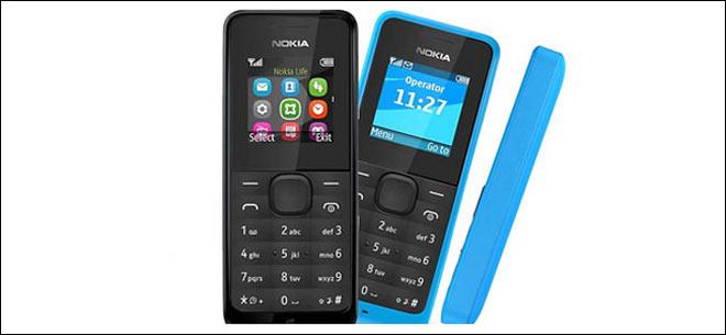 Nokia 105 handsets