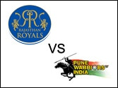 Pune Warriors romp to 7-wicket win against Rajasthan Royals in IPL 6