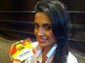 Sarah Jane Dias at India Today Woman Summit 2013
