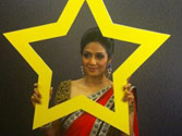First look of Sridevi at India Today Woman Summit 2013