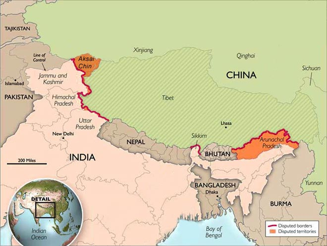 India china spar over new map row world news representational pic representational map gumiabroncs Image collections