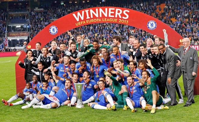 Image result for chelsea europa league