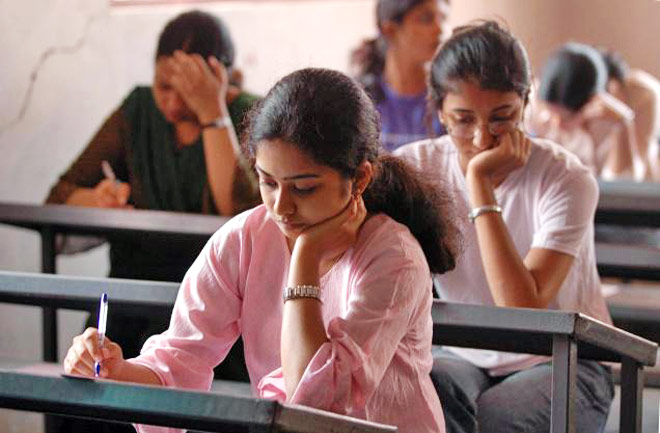 Image result for students sitting in exam open school