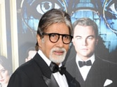 Big B steals Leo's thunder at The Great Gatsby premiere