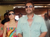Big blunder: When Ajay Devgn had to cover-up wife Kajol's outfit
